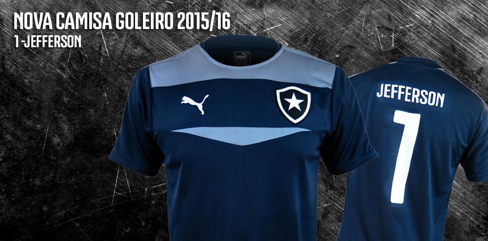 Camisa do Jefferson! Novo uniforme de goleiro ... 0c321743fe726