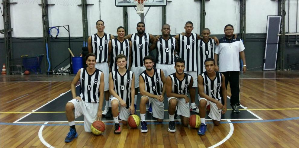 Rodada perfeita. Botafogo vence no basquete ... bd4c5013f9074