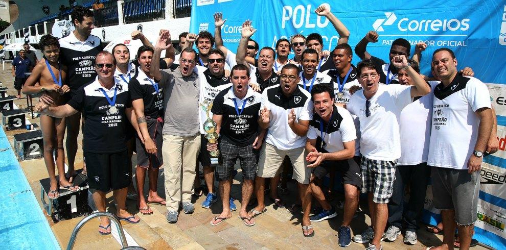 Troféu Brasil é do Fogão! Botafogo fatura mais um título nacional no pólo  aquático 07eb141421b8c